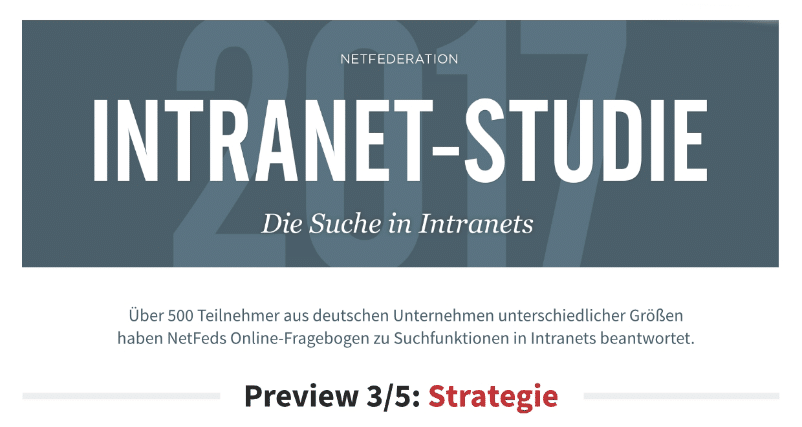 Projekt: Intranet-Studie: Strategie