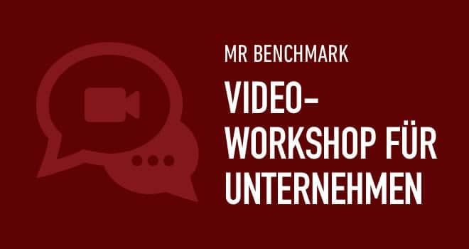 Projekt: Video-Workshop zum MR Benchmark